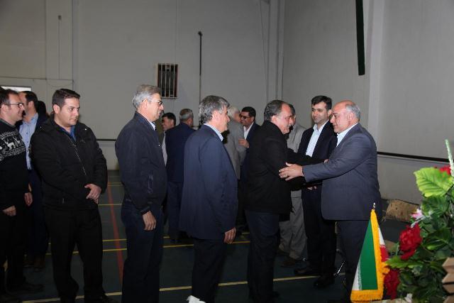 دیدار نوروزی مدیرعامل شرکت آب منطقه ای اذربایجان غربی با همکاران
