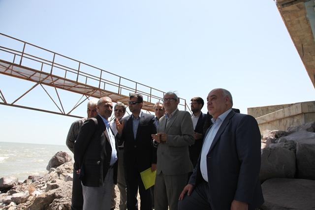 بازدید مدیرعامل شرکت مدیریت منابع آب ایران از سد شهرچای و دریاچه ارومیه